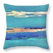 Moonlight Sea Throw Pillow