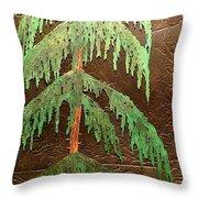 Moonlit Cedar  Throw Pillow