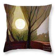 Moonlit Dream Throw Pillow