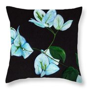 Moonlit Throw Pillow by Ekta Gupta