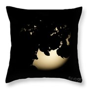Moonlit Leaves No 2 Throw Pillow