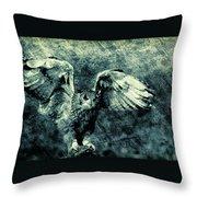 Moonlit Owl Throw Pillow