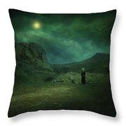 Moonloop Throw Pillow