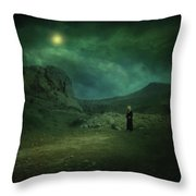 Moonloop Throw Pillow