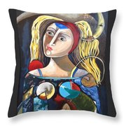 Moonnaki Throw Pillow