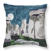 Moonrise Salisbury Throw Pillow