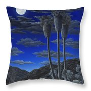 Moonrise Throw Pillow by Snake Jagger