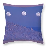 Moons And Dunes Throw Pillow