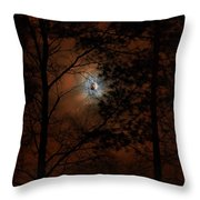 Moonshine 04 Bad Moon Rising Throw Pillow