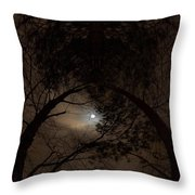 Moonshine 14 The Trees Throw Pillow