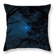 Moonshine 16 The Trees Throw Pillow