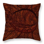 Moonshine 17 Lips Throw Pillow