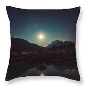 Moonshine Throw Pillow