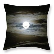 Moonstruck Throw Pillow