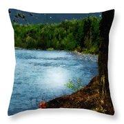 Moonstruck 'my Starry Night' Throw Pillow
