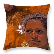 Moonswept Throw Pillow