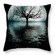Moontree Throw Pillow