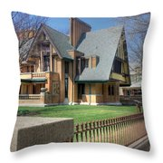 Moore-dugal House Throw Pillow