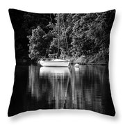 Moored 2 Throw Pillow