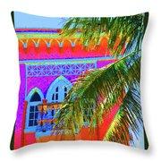Moorish Deco Throw Pillow