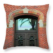 Moorish Door Throw Pillow