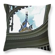 Moorish Gingerbread Throw Pillow
