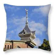 Moorish Minaret Throw Pillow
