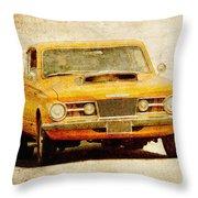 Mopar Racing Throw Pillow