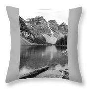 Moraine Lake II Throw Pillow
