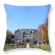 Moravian College Throw Pillow by Bill Cannon