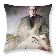 Morcillo: Portrait, C1930 Throw Pillow