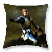 Mordred Rallies His Troops Throw Pillow
