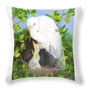 More Mommy Throw Pillow