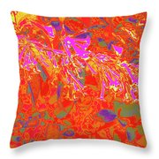 More Night Bloomers 8 Throw Pillow