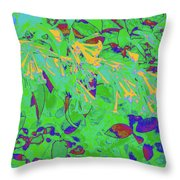 More Night Bloomers 9 Throw Pillow