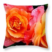 More Roses For Anne Catus 1 No. 1 H A Throw Pillow