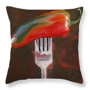 More Than A Mouthful Throw Pillow