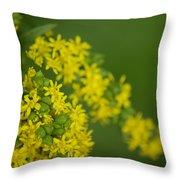 More Yellow Throw Pillow