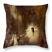 Moreau: Apparition, 1876 Throw Pillow