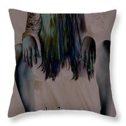 Morgan Alone Throw Pillow