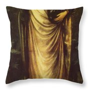 Morgan Le Fay 1862 Throw Pillow