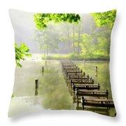 Morgans Cove Throw Pillow