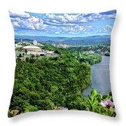 Morgantown Wv Throw Pillow