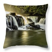 Morgenstemning Throw Pillow