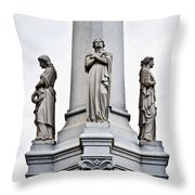 Moriarty Tomb Throw Pillow
