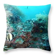 Morish Idols Throw Pillow