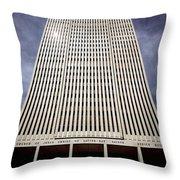 212x01-mormon World Headquarters  Throw Pillow