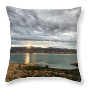 Morning After The Storm Throw Pillow