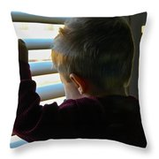 Morning Already Throw Pillow