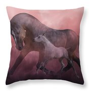 Morning And Dawn Throw Pillow